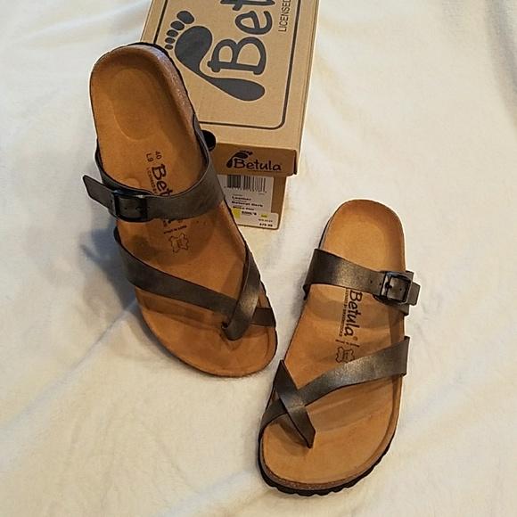 87c0108a6ee64 Birkenstock Betula Mia Golden Brown Sandals